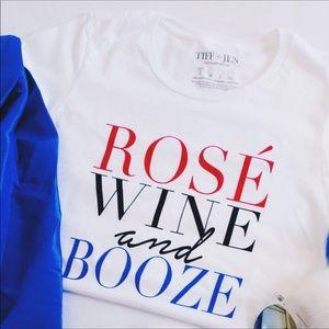 🍷Rose, Wine & Booze Tee🍷